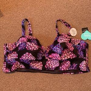 Plus Size Torrid Bikini Top